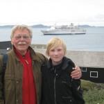 Uwe Friedrichsen mit Sohn Felix