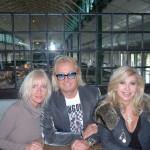 Interview-Foto: Die Geissens mit Petra Cichos