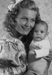 Marika Rökk mit Tochter Gabriele